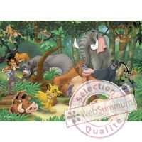Puzzles disney amis animaux 50 pcs -1 King Puzzle BJ04731A