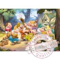 Puzzles disney blanche neige 100 pcs -1 King Puzzle BJ04754A