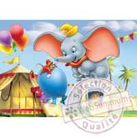 Puzzles disney dumbo 50 pcs -1 King Puzzle BJ01725A