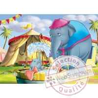 Puzzles disney dumbo 50 pcs -2 King Puzzle BJ01725B