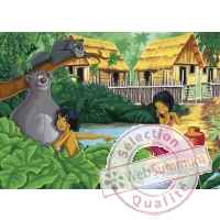 Puzzles disney le livre de la jungle 100 pcs -2 King Puzzle BJ01746B
