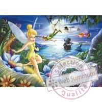 Puzzles disney peter pan 100 pcs -1 King Puzzle BJ01743A