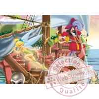 Puzzles disney peter pan 50pcs -2 King Puzzle BJ01745B
