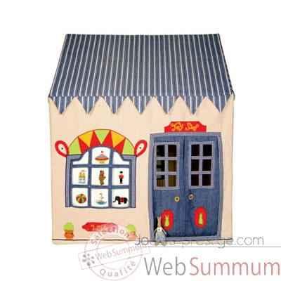 maison tissu dans jouet plein air sur jouets prestige. Black Bedroom Furniture Sets. Home Design Ideas