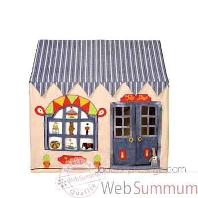 maison tissu petit magasin de jouet enfant dans maison tissu sur jouets prestige. Black Bedroom Furniture Sets. Home Design Ideas