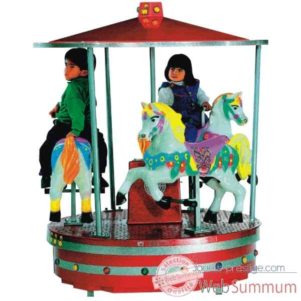 Maxi carrousel poney Merkur Kids -73011753