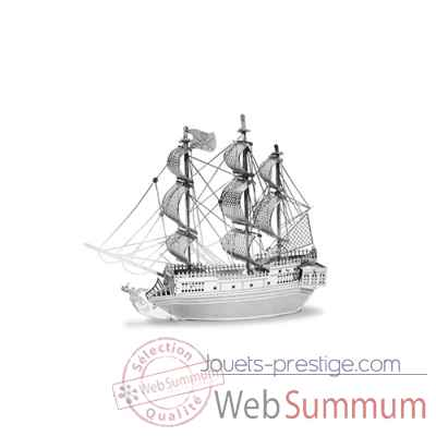 Maquette 3d en metal bateau pirate la perle noire Metal Earth -5061012
