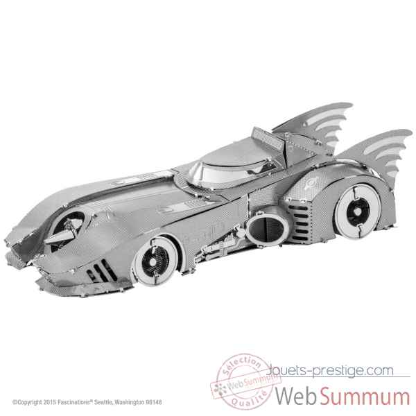 Maquette 3d en metal batman-99 batmobile Metal Earth -5061372
