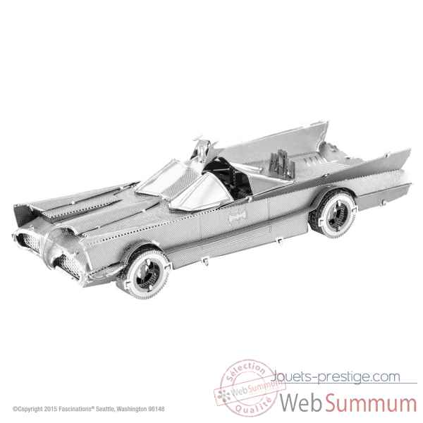 Maquette 3d en metal batman-classic tv batmobile Metal Earth -5061371