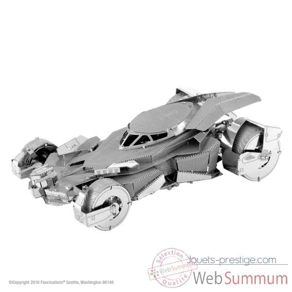 Maquette 3d en metal batman vs superman - batmobile Metal Earth -5061375