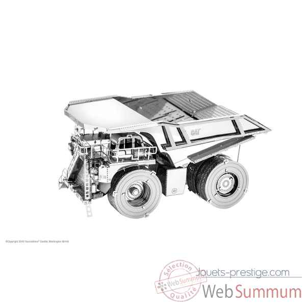Maquette 3d en metal cat - camion minier Metal Earth -5061424