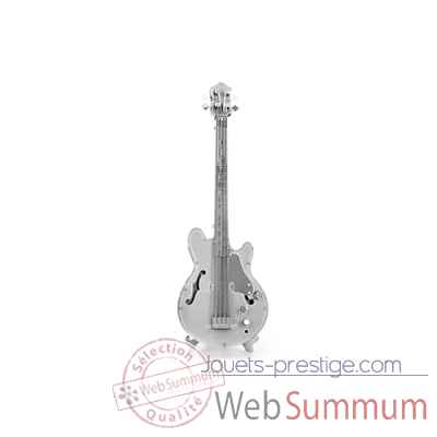 Maquette 3d en metal guitare basse Metal Earth -5061075