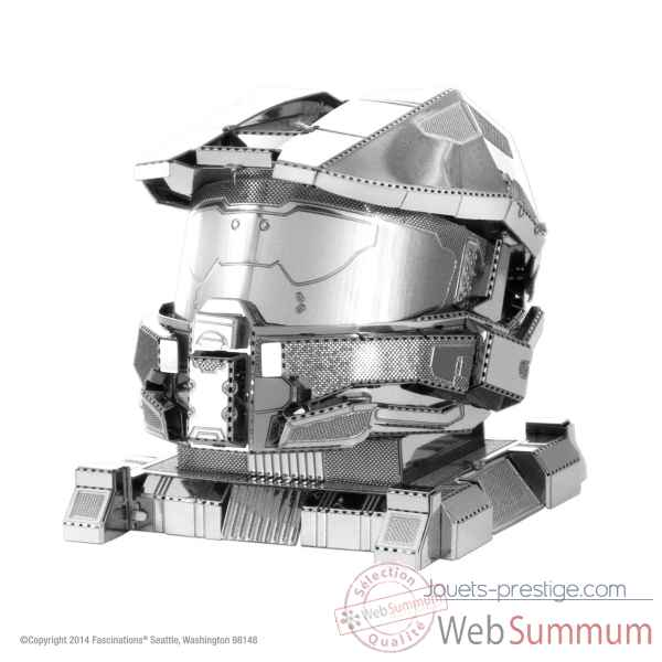 Maquette 3d en metal halo-casque master chief Metal Earth -5061290