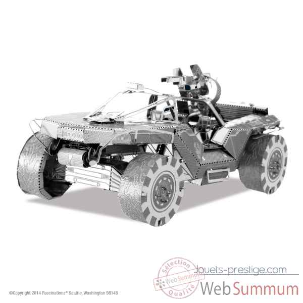 Maquette 3d en metal halo-warthog Metal Earth -5061291