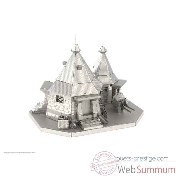 Maquette 3d en metal harry potter - la cabane de hagrid Metal Earth -5061441