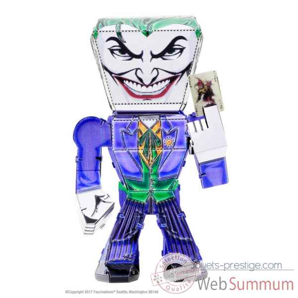 Maquette 3d en metal justice league-the joker Metal Earth -5060022