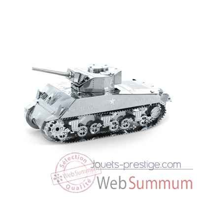 Maquette 3d en metal sherman tank Metal Earth -5061204