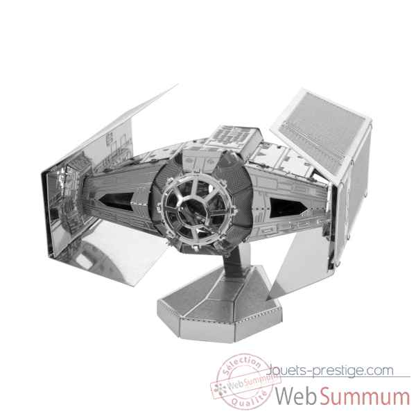 Maquette 3d en metal star wars darth vader\'s tie fighter Metal Earth -5061253
