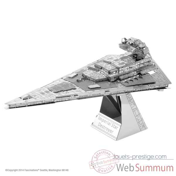 Maquette 3d en metal star wars destroyer imperial star Metal Earth -5061254