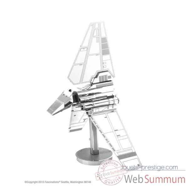 Maquette 3d en metal star wars imperial shuttle Metal Earth -5061259