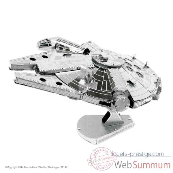 Maquette 3d en metal star wars millennium falcon Metal Earth -5061251