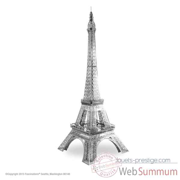 Maquette 3d en metal tour eiffel Metal Earth -5061933