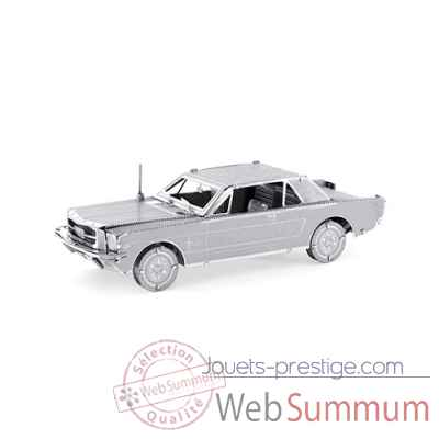 Maquette 3d en metal vehicule 1965 ford mustang coupe Metal Earth -5061056