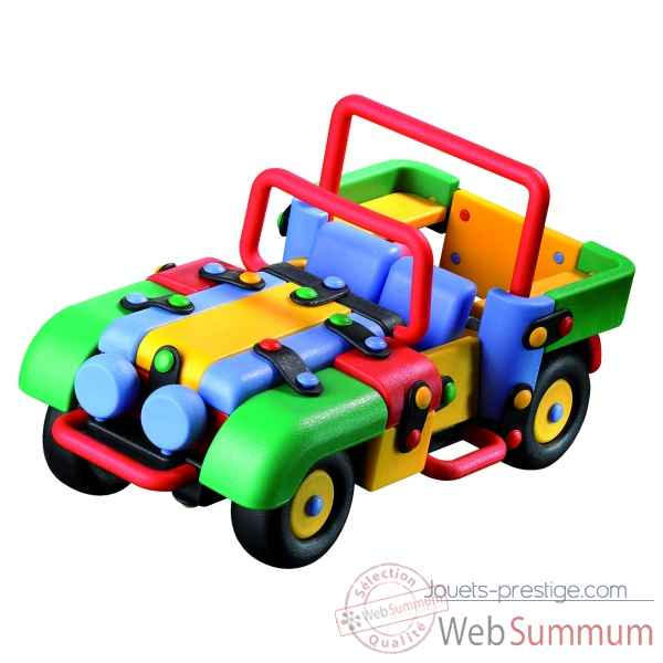 voiture 4x4 mic o mic 58723 dans jeux de construction sur jouets prestige. Black Bedroom Furniture Sets. Home Design Ideas