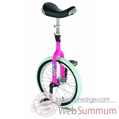 Monocycle rose Puky ER16