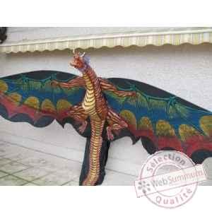 Cerf volant dinosaure envergure 5 m occasion cerf volant - Dinosaur volant ...
