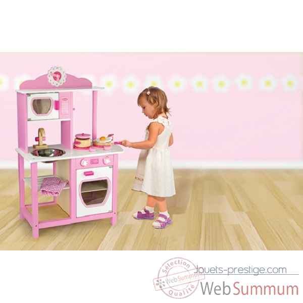 cuisine princesse 1052 de new classic toys dans meubles enfant sur jouets prestige. Black Bedroom Furniture Sets. Home Design Ideas