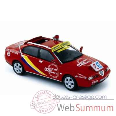 "Alfa romeo 166 ""direction de course"" tour de france 2002  Norev 790004"