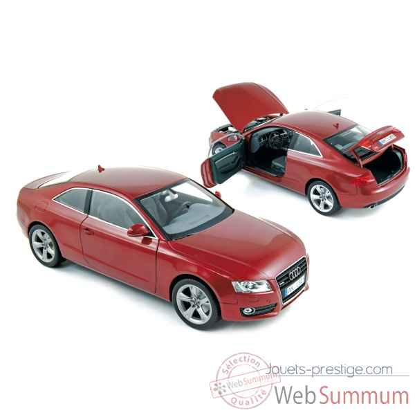 Audi a5 coupe 2007 granat red  Norev 188352
