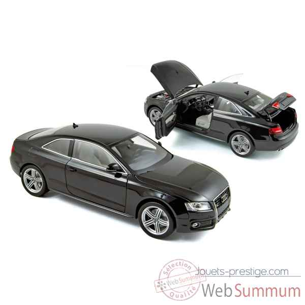 Audi s5 coupe 2009 - phantom black  hq Norev 188360