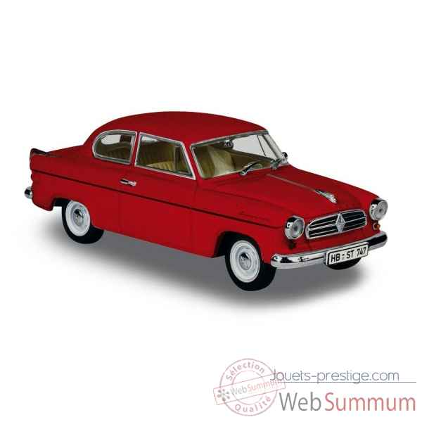 Borgward isabella berline rouge 1960 Norev 820022