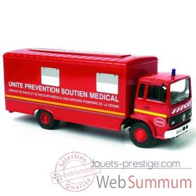 camion renault j pompier de la dr me norev 518504 dans camion sur jouets prestige. Black Bedroom Furniture Sets. Home Design Ideas