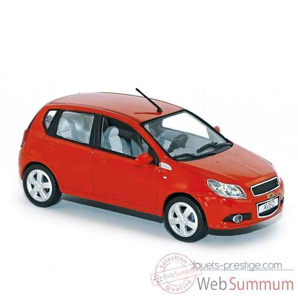 Chevrolet aveo 2009 red  Norev 900010