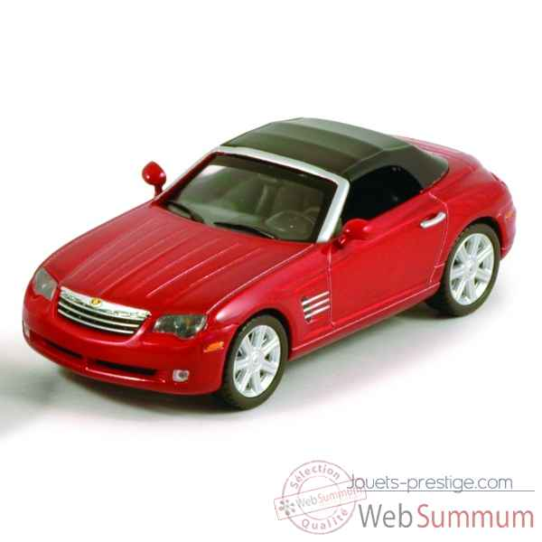 Chrysler crossfire roadster blaze red crystal Norev 940005