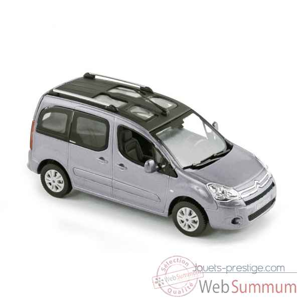 Citroen berlingo multispace 2008 - aluminium grey  Norev 155716