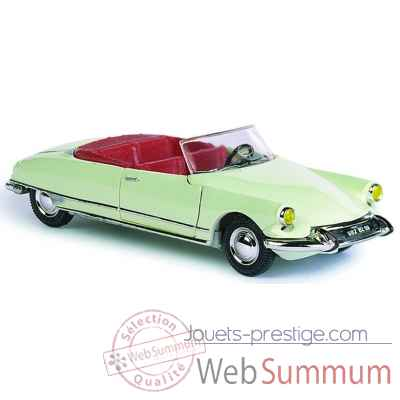 Citroen ds 19 blanc carrare Norev 157003