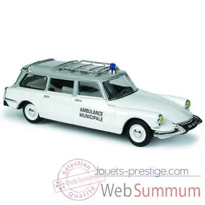 Citroen id break ambulance municipale Norev 155019