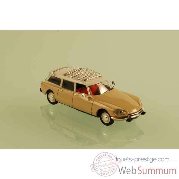 Citroen ds 23 break beige vanneau 1974 Norev 155070