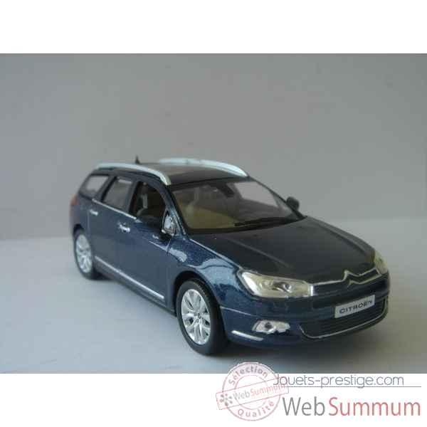 Citroen c5 break bleu bourrasque 2008  Norev 155581