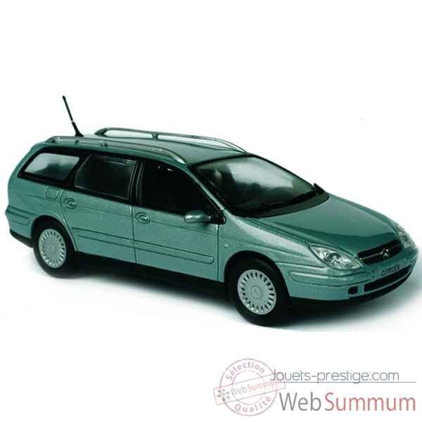 Citroen c5 break bleu leman Norev 155551