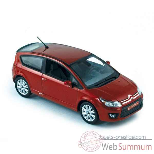 Citroen c4 coupe 2008 rouge lucifer  Norev 155404