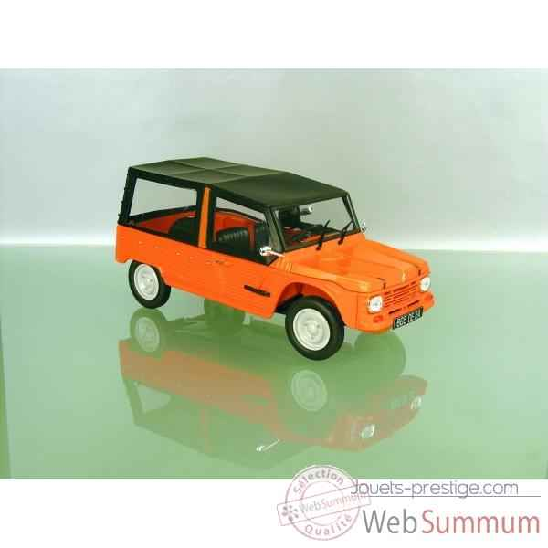 Citroen mehari 4x2 orange kirghiz Norev 181515