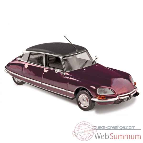 Citroen ds 23 pallas 1972 grenade red with black vinyl roof  Norev 157057