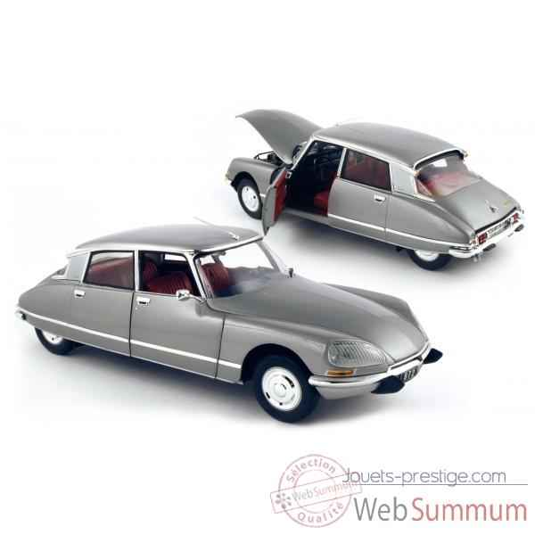 Citroen ds 23 pallas gris interieur rouge 1972 Norev 181574