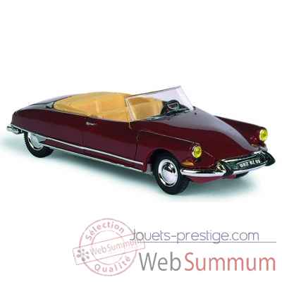 Citroen ds 19 rouge Norev 157004