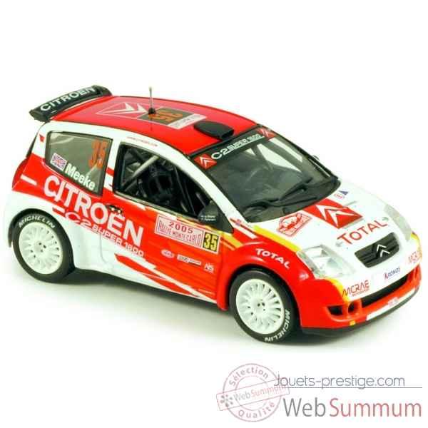 C2 Super 155253 Citroën De Norev 1600 Carlo Monte Rallye 2005 wkPnOX80